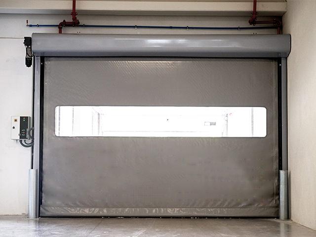 Puerta Rapida Aluminio Enrollable Inkema
